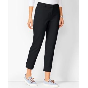 Talbots Heritage Black Slim Fit Ankle Pants